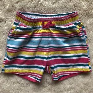 Pekkle Colourful Elastic Shorts Girls Size 18M